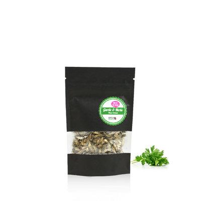 Grillons domestiques lyophilisés Ail & Fines herbes 15 grammes