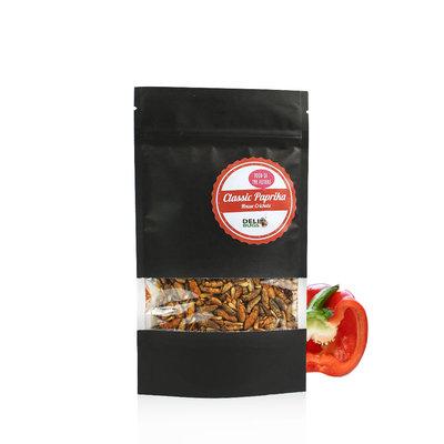 Grillons domestiques lyophilisés Paprika Classique 40 grammes