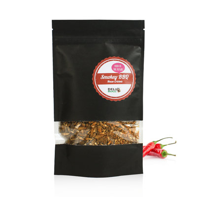 Grillons domestiques lyophilisés BBQ Fumé 70 grammes