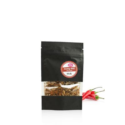 Grillons domestiques lyophilisés BBQ Fumé 15 grammes