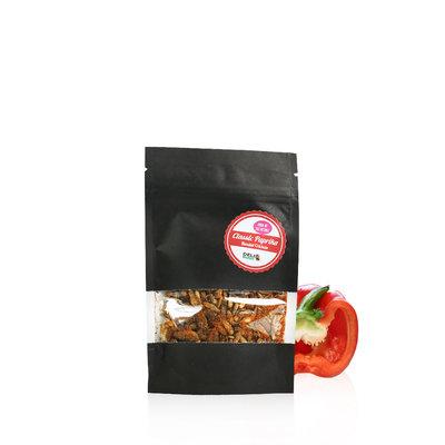 Grillons domestiques tropicaux lyophilisés Paprika Classique 15 grammes