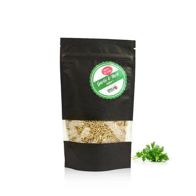 Vers Buffalo lyophilisés Ail & Fines herbes 50 grammes