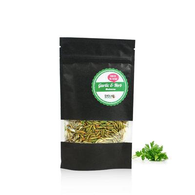 Vers de farine lyophilisés Ail & Fines herbes 40 grammes