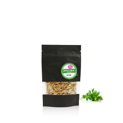 Vers de farine lyophilisés Ail & Fines herbes 13 grammes