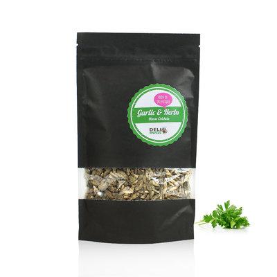Grillons domestiques lyophilisés Ail & Fines herbes 70 grammes