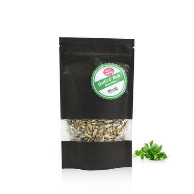 Grillons domestiques lyophilisés Ail & Fines herbes 40 grammes