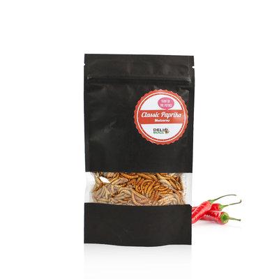 Vers de farine lyophilisés Paprika Classique 40 grammes