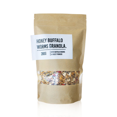 Granola aux Vers Buffalo et au Miel
